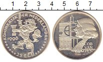 Изображение Монеты Нидерланды 25 экю 1996 Серебро Proof-