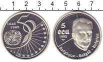 Изображение Монеты Бельгия 5 экю 1995 Серебро Proof-