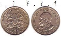 Изображение Монеты Кения 50 центов 1974 Медно-никель XF