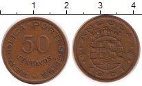 Изображение Монеты Ангола 50 сентаво 1961 Медь XF