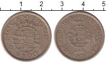 Изображение Монеты Африка Мозамбик 5 эскудо 1973 Медно-никель XF