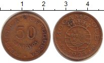 Изображение Монеты Мозамбик 50 сентаво 1973 Медь  Колония Португалии.