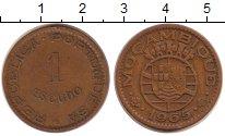 Изображение Монеты Африка Мозамбик 1 эскудо 1965 Медь