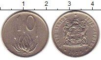 Изображение Монеты Африка ЮАР 10 центов 1975 Медно-никель