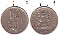 Изображение Монеты ЮАР 10 центов 1975 Медно-никель