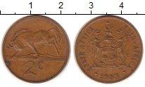 Изображение Монеты Африка ЮАР 2 цента 1983 Медь