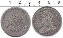 Изображение Монеты США 50 центов 1837 Серебро VF