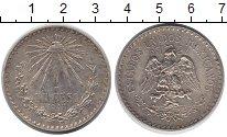 Изображение Монеты Северная Америка Мексика 1 песо 1943 Серебро XF