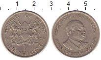 Изображение Монеты Африка Кения 1 шиллинг 1989 Медно-никель XF