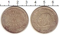 Изображение Монеты Южная Америка Боливия 1/2 мелгареджо 1865 Серебро XF