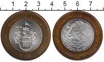 Изображение Монеты Мексика 100 песо 2004 Биметалл UNC- Штат Халиско (Центр