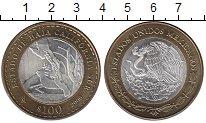 Изображение Монеты Мексика 100 песо 2006 Биметалл UNC- Штат Южная Нижняя Ка