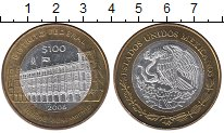 Изображение Монеты Северная Америка Мексика 100 песо 2006 Биметалл UNC-