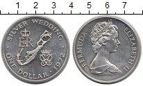 Изображение Монеты Бермудские острова 1 доллар 1972 Серебро UNC