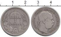 Изображение Монеты Европа Венгрия 1 корона 1893 Серебро VF