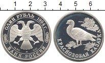 Изображение Монеты СНГ Россия 1 рубль 1994 Серебро Proof-