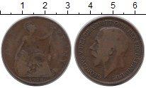 Изображение Монеты Европа Великобритания 1 пенни 1918 Бронза VF