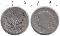 Изображение Монеты Европа Польша 2 злотых 1932 Серебро VF