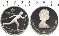 Изображение Монеты Северная Америка Канада 20 долларов 1986 Серебро Proof-