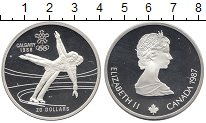 Изображение Монеты Северная Америка Канада 20 долларов 1987 Серебро Proof-