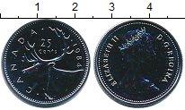 Изображение Монеты Канада 25 центов 1984 Медно-никель UNC
