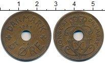 Изображение Монеты Дания 5 эре 1934 Медь XF