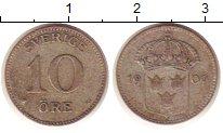 Изображение Монеты Европа Швеция 10 эре 1909 Медно-никель XF