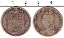Изображение Монеты Европа Великобритания 1 шиллинг 1890 Серебро VF