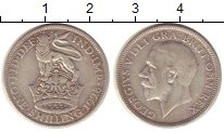 Изображение Монеты Великобритания 1 шиллинг 1928 Серебро XF Георг V.