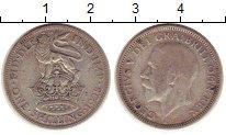 Изображение Монеты Европа Великобритания 1 шиллинг 1928 Серебро VF
