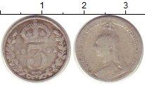 Изображение Монеты Европа Великобритания 3 пенса 1891 Серебро VF