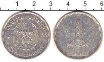 Изображение Монеты Третий Рейх 5 марок 1935 Серебро VF Подписная кирха А