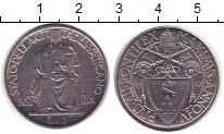 Изображение Монеты Европа Ватикан 1 лира 1942 Медно-никель XF
