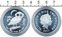 Изображение Мелочь Новая Зеландия Ниуэ 2 доллара 2017 Серебро UNC