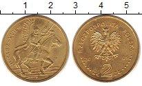 Изображение Монеты Польша 2 злотых 2009 Латунь XF Гусар XVII века