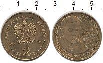 Изображение Монеты Польша 2 злотых 2009 Латунь UNC- Попелушко