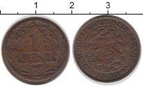 Изображение Монеты Нидерланды 1 цент 1930 Бронза XF