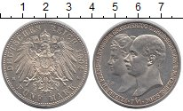 Изображение Монеты Германия Мекленбург-Шверин 5 марок 1904 Серебро XF