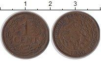 Изображение Монеты Европа Нидерланды 1 цент 1930 Медь XF