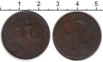 Изображение Монеты Европа Франция 5 сантим 1916 Медь VF