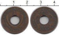 Изображение Монеты Великобритания Восточная Африка 1 цент 1922 Медь VF