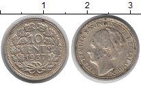 Изображение Монеты Европа Нидерланды 10 центов 1937 Серебро XF