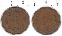 Изображение Монеты Египет 10 миллим 1943 Медь XF Фарук.