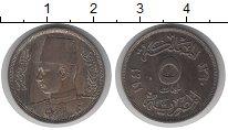 Изображение Монеты Египет 5 мильем 1941 Медно-никель XF