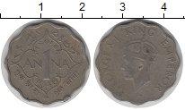 Изображение Монеты Индия 1 анна 1946 Медно-никель XF Георг VI.