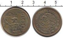 Изображение Монеты Мексика 100 песо 1988 Латунь XF