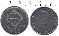 Изображение Монеты Италия 100 лир 1974 Медно-никель XF