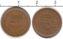 Изображение Монеты Африка Мозамбик 20 сентаво 1974 Медь XF