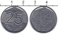 Изображение Монеты Бразилия 25 сентаво 1995 Железо VF