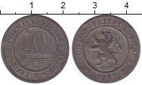 Изображение Монеты Бельгия 10 сантим 1862 Медно-никель